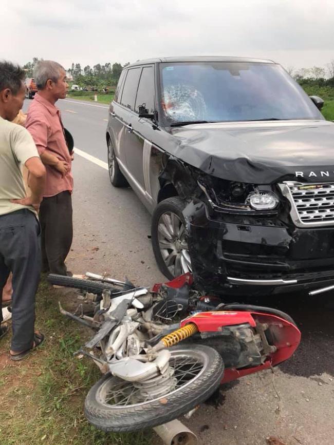 Hưng Yên: Chồng tử vong, vợ nguy kịch sau khi va chạm với xe Range Rover - Ảnh 2