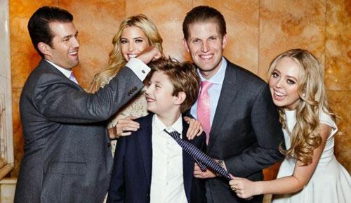 Lý do các con của Donald Trump thành tài dù 'ngậm thìa vàng mà lớn' - Ảnh 2