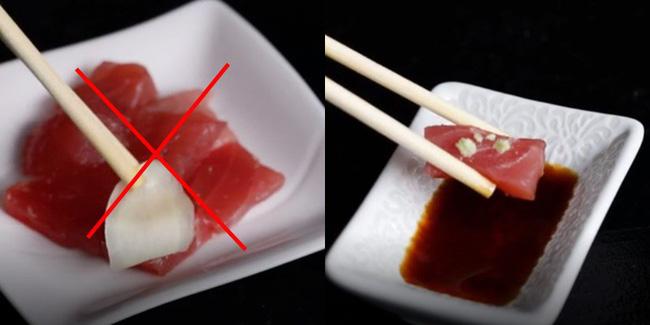 Vào nhà hàng mà mắc những sai lầm này khi ăn sushi thì thật kém sang! - Ảnh 3