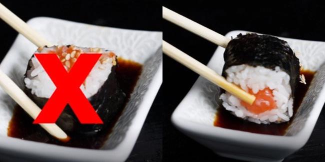 Vào nhà hàng mà mắc những sai lầm này khi ăn sushi thì thật kém sang! - Ảnh 5