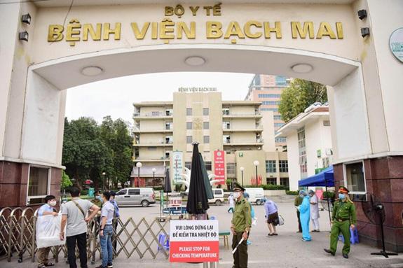 Bộ Y tế yêu cầu báo cáo gấp việc nữ điều dưỡng Bệnh viện Bạch Mai mang thai tuần 38 vẫn chống dịch Covid-19 - Ảnh 1