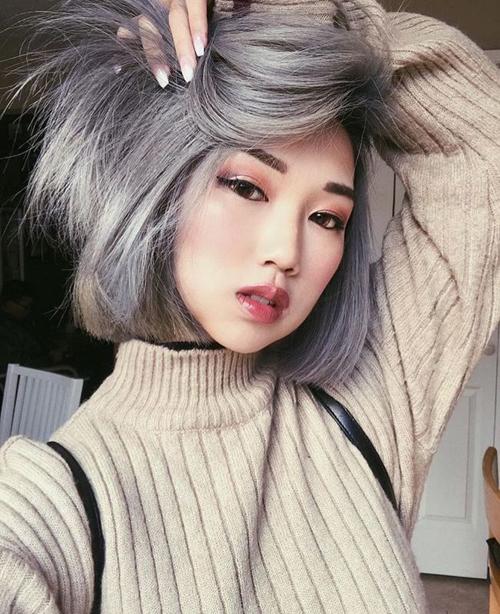 3 màu tóc khói sành điệu cho da thêm trắng sáng ngày hè - Ảnh 5