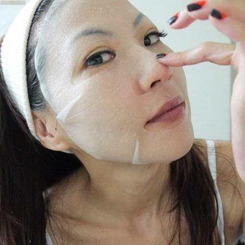 Tự làm mặt nạ giấy cho da nhạy cảm này rồi đắp mỗi tối, quanh năm không lo nổi mụn, thâm sạm - Ảnh 5