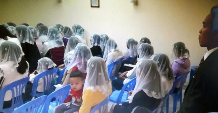 Công an điều tra nhóm người Hội Thánh Đức Chúa Trời Mẹ truyền đạo trái phép ở Gia Lai - Ảnh 1