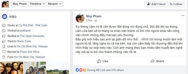 Tăng Thanh Hà công khai ủng hộ vợ chồng Phạm Anh Khoa giữa tâm bão scandal - Ảnh 2