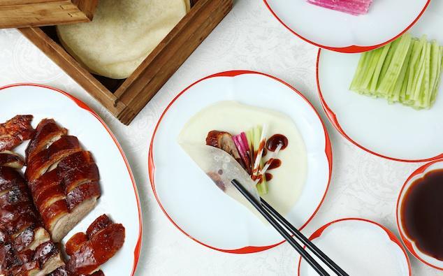 Cách ăn vịt quay Bắc Kinh chuẩn phong cách hoàng gia - Ảnh 10