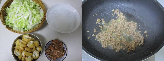 Bữa tối tôi làm chảo miến xào ăn vừa nhẹ bụng lại vừa ngon - Ảnh 1