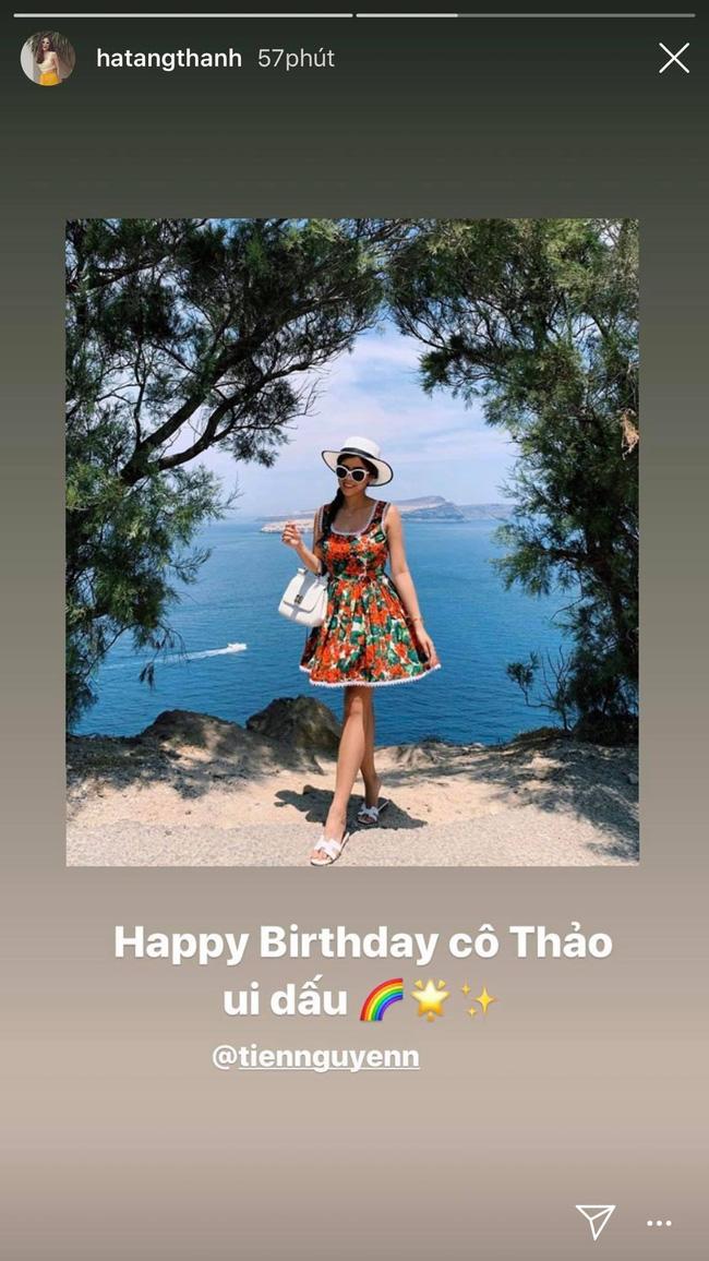 Tăng Thanh Hà có động thái này trong ngày sinh nhật em chồng Tiên Nguyễn nhưng cách xưng hô lại rất đặc biệt - Ảnh 1