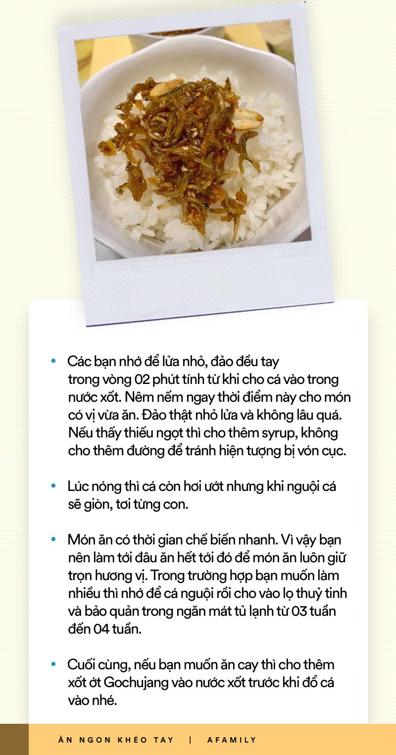 Hóa ra món cá khô rang kiểu Hàn siêu ngon làm chỉ trong 5 phút thôi - bảo sao các mẹ thích đến thế! - Ảnh 8