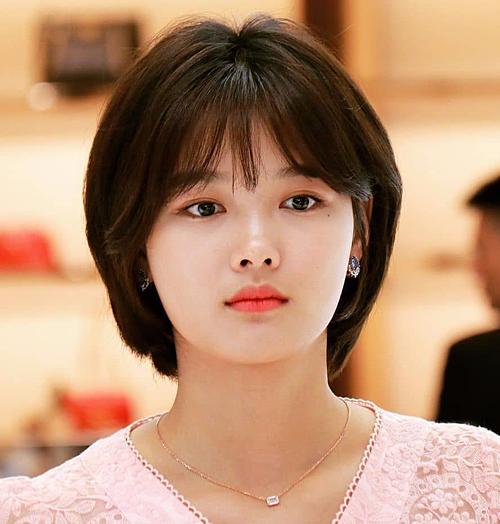 Những kiểu tóc ngắn đẹp của sao Hàn đáng thử hè này - Ảnh 3
