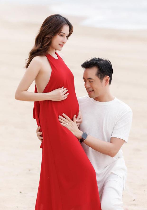 Sao Vbiz đồng loạt chúc mừng tin vui vợ chồng Dương Khắc Linh: Động thái của hội mẹ bầu Hà Hồ, Thu Thuỷ gây chú ý! - Ảnh 1