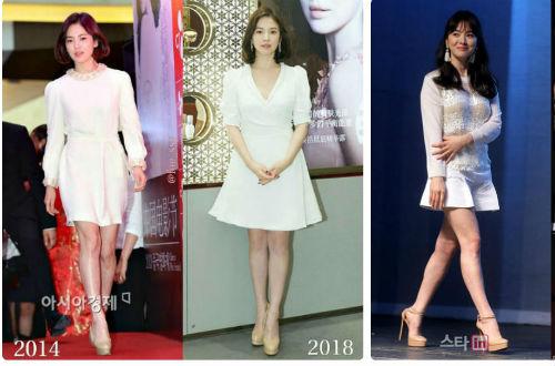 Cách mặc để tăng 10cm chiều cao của Song Hye Kyo - Ảnh 10