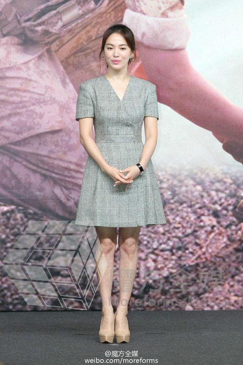 Cách mặc để tăng 10cm chiều cao của Song Hye Kyo - Ảnh 3