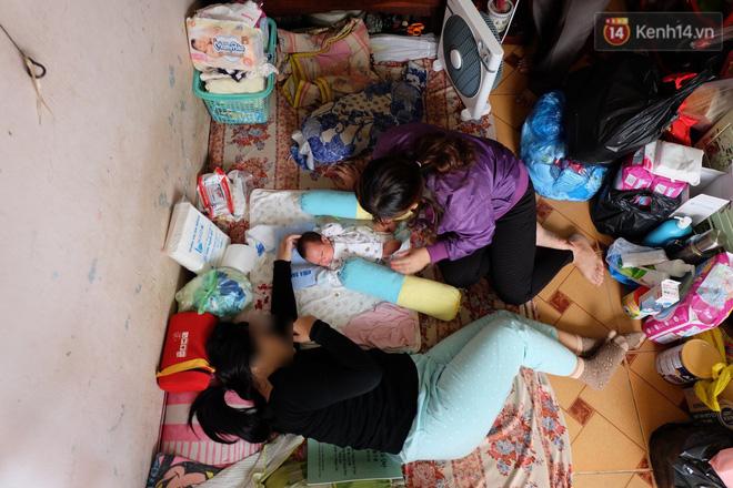 Hoàn cảnh neo đơn của người cha nghèo chạy xe ôm nuôi con gái chỉ mới 14 tuổi đã sinh con ngoài ý muốn ở Sài Gòn - Ảnh 2