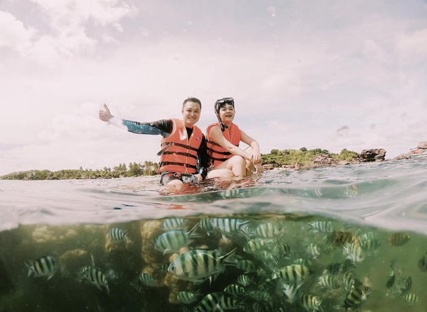 Quang Vinh bất ngờ lên tiếng xin lỗi về sự cố ngồi lên rạn san hô khi quay clip du lịch ở Phú Quốc - Ảnh 1