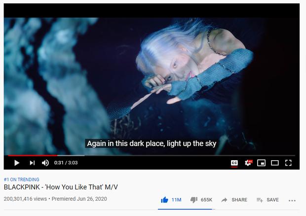 Vượt mặt Taylor Swift và Adele, 'How You Like That' của BLACKPINK trở thành MV cán mốc 200 triệu view nhanh nhất lịch sử - Ảnh 1
