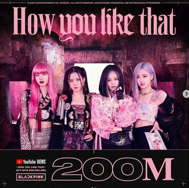 Vượt mặt Taylor Swift và Adele, 'How You Like That' của BLACKPINK trở thành MV cán mốc 200 triệu view nhanh nhất lịch sử - Ảnh 2