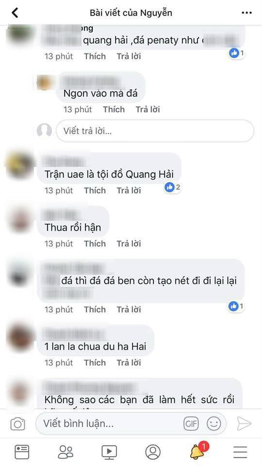 Loạt sao Việt phẫn nộ khi cổ động viên quá khích chửi Quang Hải, Bùi Tiến Dũng là 'tội đồ' - Ảnh 2