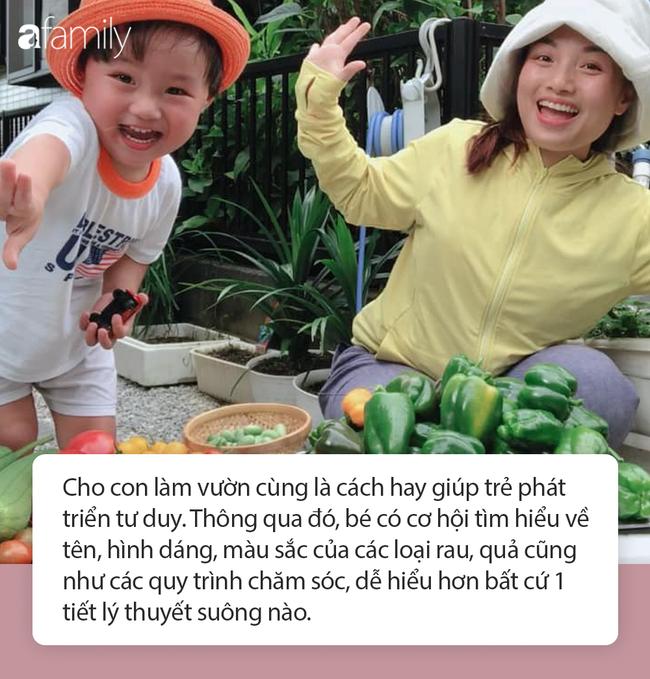 Lý do gì khiến nhóc Sa 3 tuổi ngoan ngoãn ngồi xem mẹ quay Vlog, có thể bởi cách dạy con cực khéo của Quỳnh Trần JP - Ảnh 6