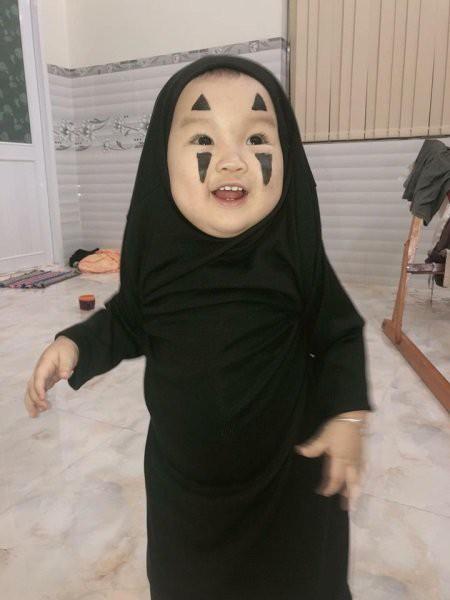 Vô Diện mùa Halloween năm nay đã tái xuất, cute hết nấc chứ không 'đáng sợ' như phiên bản gốc - Ảnh 12