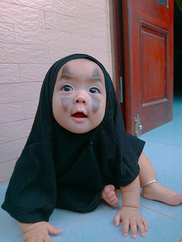 Vô Diện mùa Halloween năm nay đã tái xuất, cute hết nấc chứ không 'đáng sợ' như phiên bản gốc - Ảnh 4
