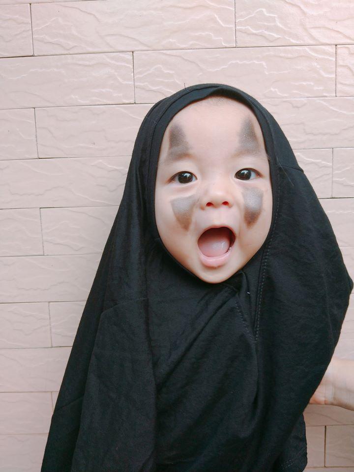 Vô Diện mùa Halloween năm nay đã tái xuất, cute hết nấc chứ không 'đáng sợ' như phiên bản gốc - Ảnh 5
