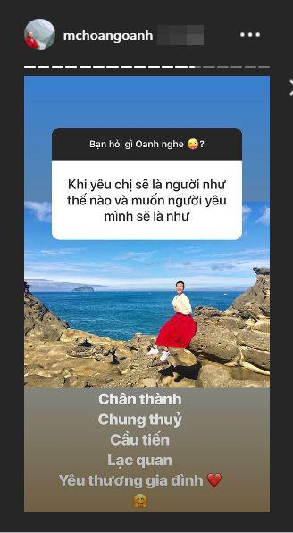 Á hậu Hoàng Oanh thừa nhận đang tương tư 1 người sau thời gian dài chia tay Huỳnh Anh - Ảnh 4