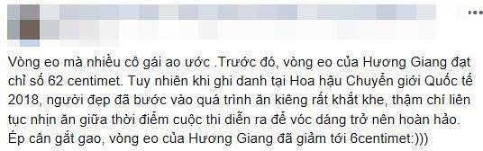 Hoa hậu Hương Giang bị dân mạng nghi ngờ 'cắt xương sườn' vì phô vòng eo nhỏ chẳng kém Ngọc Trinh - Ảnh 4