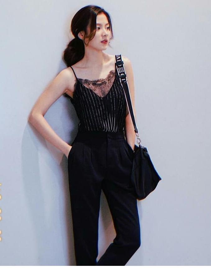Học nữ chính phim Friend Zone phối trang phục cho vóc dáng thật thanh mảnh, cao ráo - Ảnh 10
