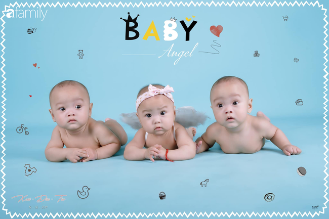 Hé lộ cuộc sống bỉm sữa của gia đình sinh ba: 2 tháng đầu gần như thức trắng đêm, mỗi tháng tốn 30 triệu nuôi con - Ảnh 7