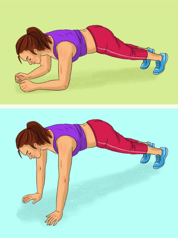 12 động tác plank tập đến đâu mỡ giảm đến đấy - Ảnh 1