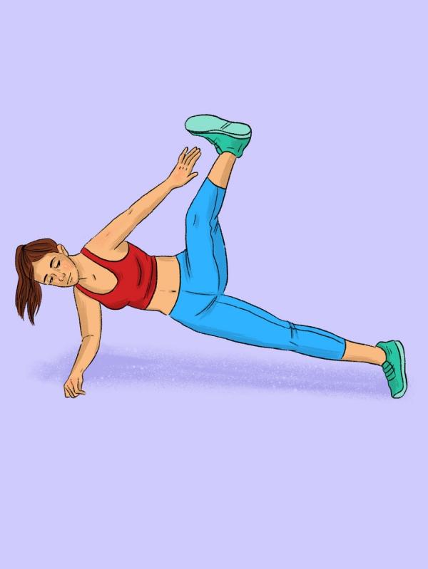 12 động tác plank tập đến đâu mỡ giảm đến đấy - Ảnh 2