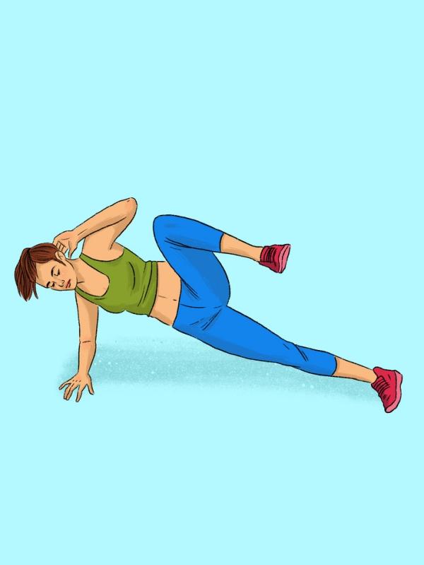 12 động tác plank tập đến đâu mỡ giảm đến đấy - Ảnh 3