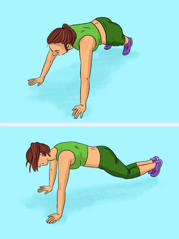 12 động tác plank tập đến đâu mỡ giảm đến đấy - Ảnh 6