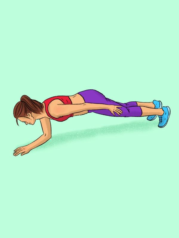 12 động tác plank tập đến đâu mỡ giảm đến đấy - Ảnh 7
