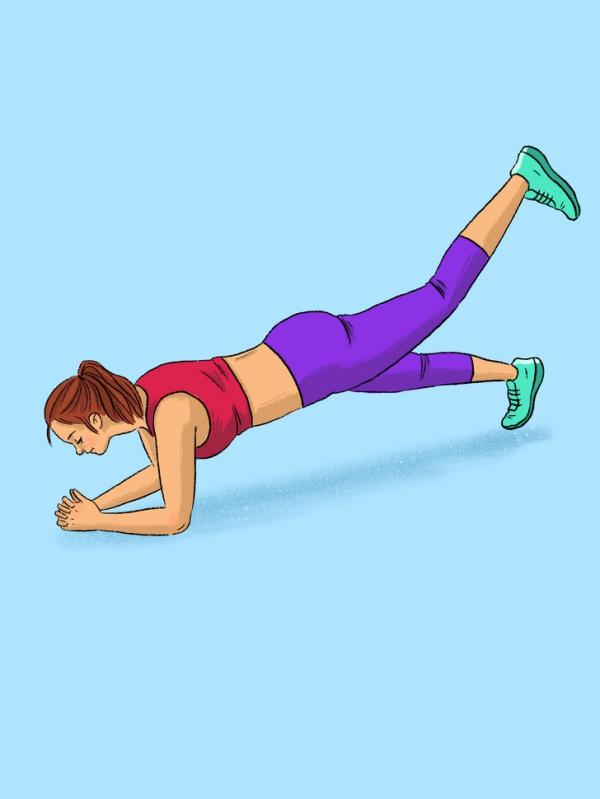 12 động tác plank tập đến đâu mỡ giảm đến đấy - Ảnh 9