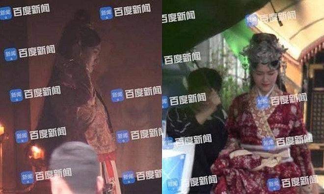 Để lộ chi tiết này trên phim trường, Đường Yên bị nghi đang mang thai con đầu lòng - Ảnh 3