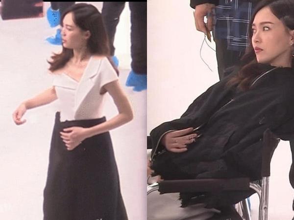 Để lộ chi tiết này trên phim trường, Đường Yên bị nghi đang mang thai con đầu lòng - Ảnh 4