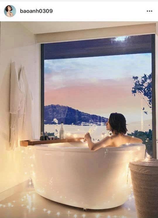 Hồ Quang Hiếu đăng tải ảnh trong phòng tắm, cư dân mạng lại gọi tên Bảo Anh - Ảnh 3