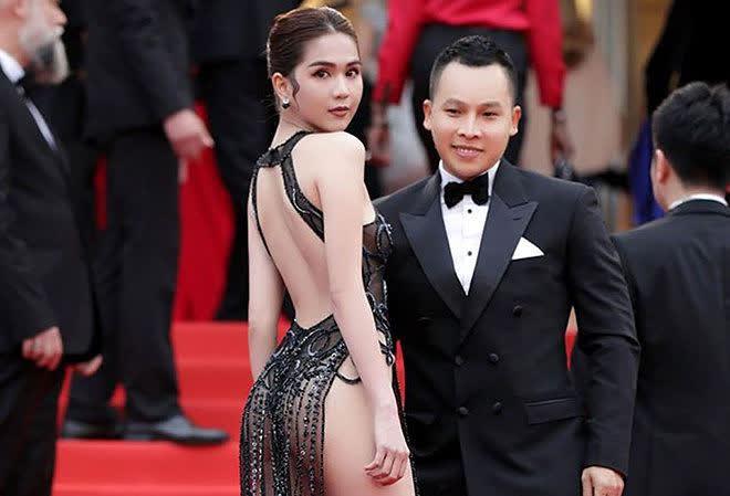 Không mặc hở từ trên xuống dưới như Ngọc Trinh, Lan Phương gây sốc khi đi chân trần trên thảm đỏ Cannes - Ảnh 2