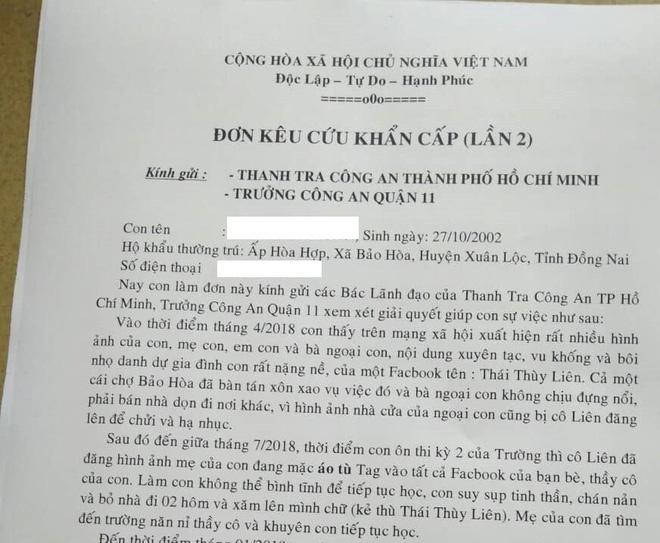 Nữ sinh lớp 11 uống thuốc tự tử vì bị vu khống, xúc phạm trên Facebook: 'Đồ con không cha, xinh đẹp thì đi làm điếm mà kiếm tiền' - Ảnh 2