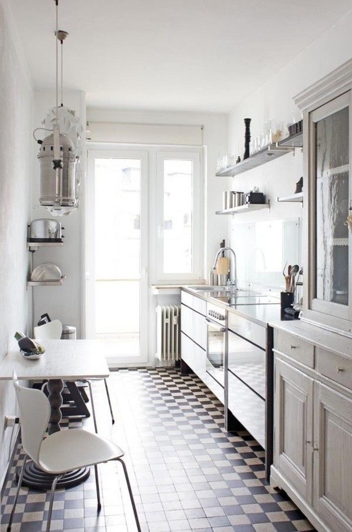 Tròn mắt với những phòng bếp nhỏ nhưng có võ, ai nhìn cũng mê - Ảnh 2