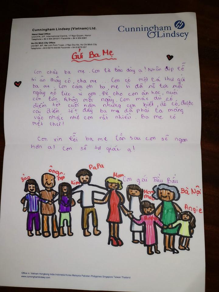 Đọc thư tay con riêng của chồng gửi, Vũ Thu Phương nghẹn ngào: 'Đã làm dì ghẻ nên thương con chồng' - Ảnh 3