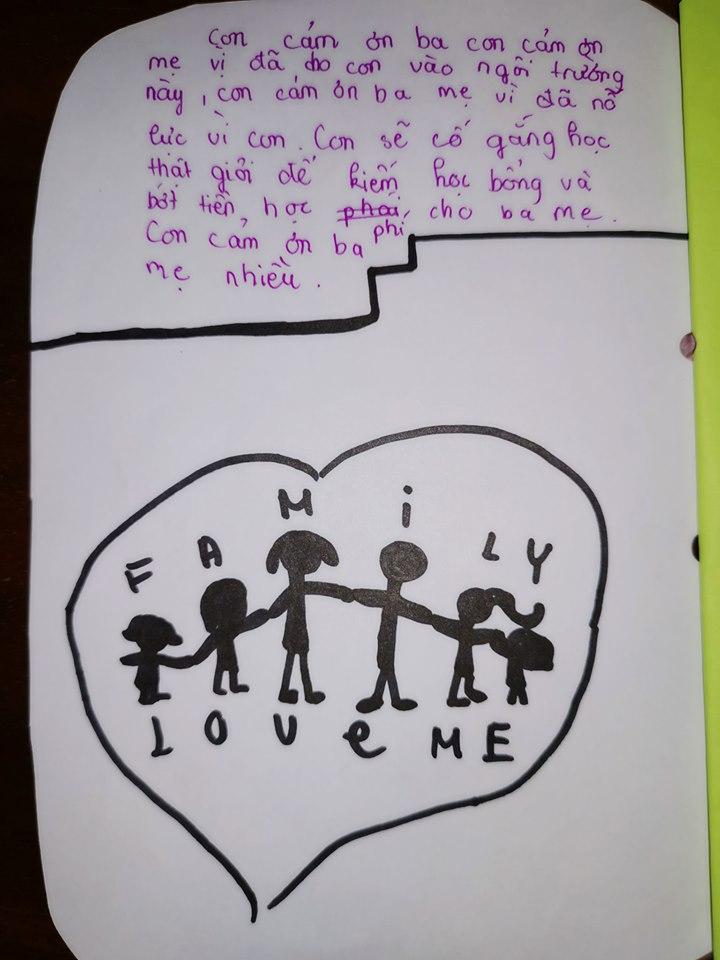 Đọc thư tay con riêng của chồng gửi, Vũ Thu Phương nghẹn ngào: 'Đã làm dì ghẻ nên thương con chồng' - Ảnh 4