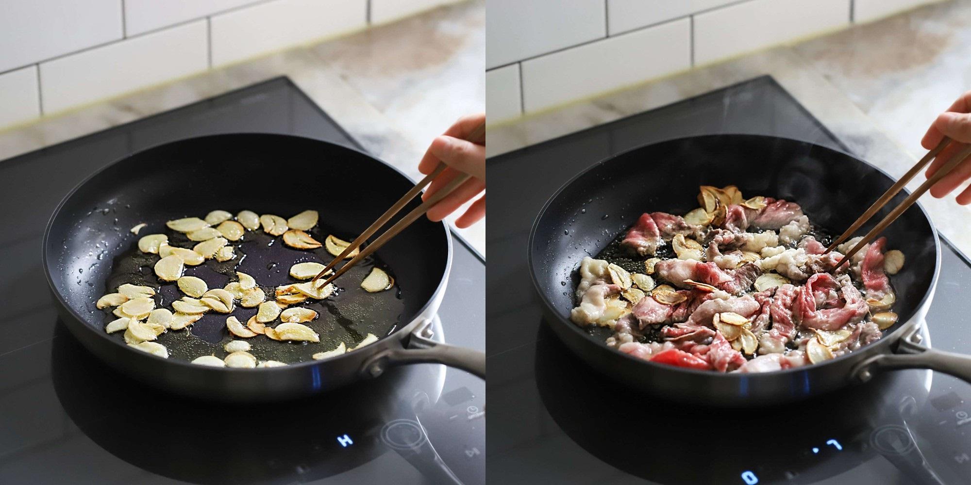 Người Hàn có cách làm mì xào bò ăn ngon lạ miệng lắm, thử một lần chồng tôi khen tấm tắc! - Ảnh 2