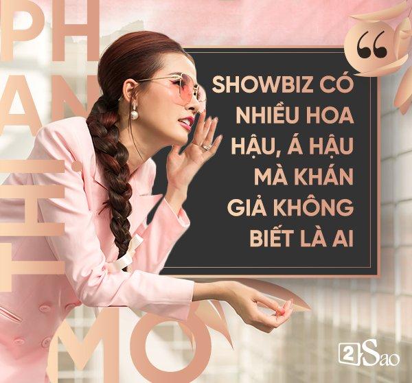 Hoa hậu Phan Thị Mơ: 'Cuộc sống như của Tăng Thanh Hà có gì vui' - Ảnh 3