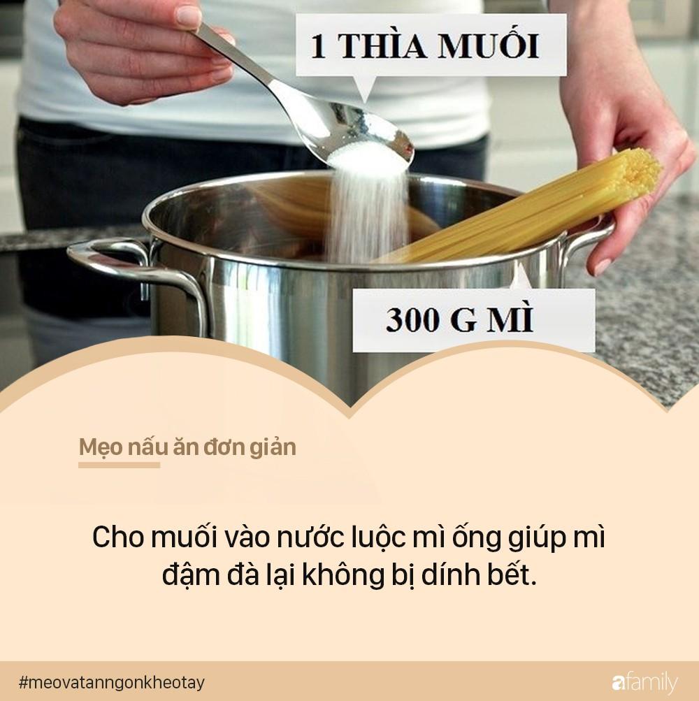 4 mẹo nấu ăn đơn giản nhất quả đất mà 90% các mẹ không biết - Ảnh 1