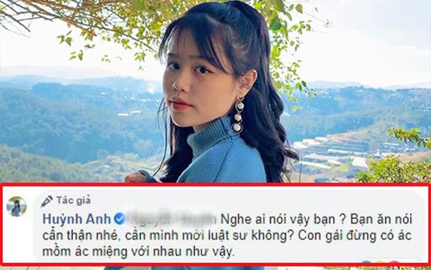 Huỳnh Anh (bạn gái Quang Hải) muốn 'mời luật sư' khi bị anti-fan làm phiền trên Facebook cá nhân - Ảnh 1