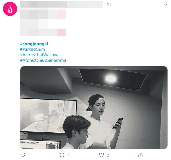 """Thực hư khoảnh khắc Song Joong Ki hội ngộ Park Bo Gum sau 1 năm bị đồn là """"kẻ thứ 3"""" trong vụ ly hôn Song Hye Kyo? - Ảnh 1"""
