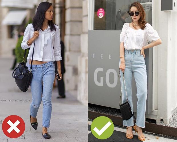 4 kiểu ăn mặc sau không xấu, nhưng nàng thấp bé cứ xác định sẽ bị dìm dáng tơi tả nếu áp dụng - Ảnh 2
